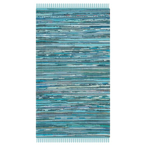 Huddersfield Accent Rug - Blue / Multi (3