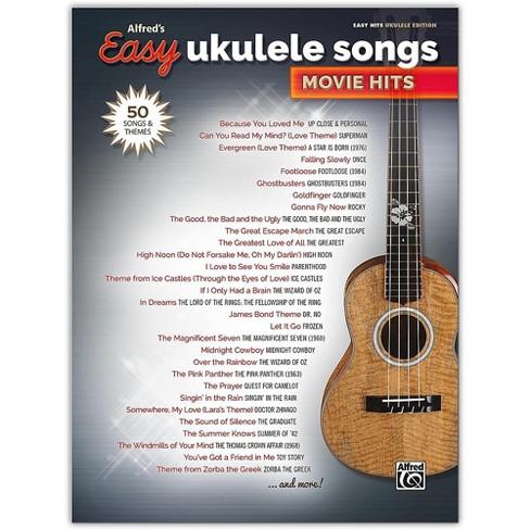 Alfred Alfred's Easy Ukulele Songs: Movie Hits Easy Hits Ukulele Songbook - image 1 of 1