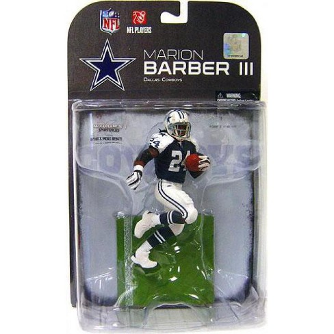 McFarlane Toys NFL Dallas Cowboys Sports Picks Series 19 Marion Barber Action Figure [Blue Jersey Variant] - image 1 of 1