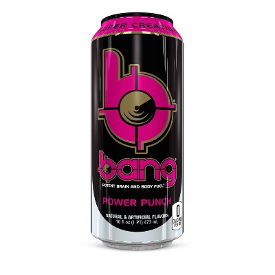 BANG Power Punch Energy Drink - 16 fl oz Can