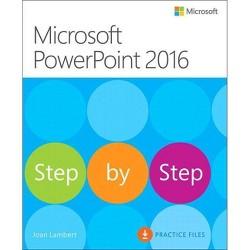 Microsoft PowerPoint 2016 Step by Step - by  Joan Lambert (Paperback)