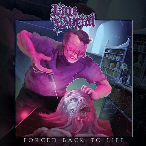 Live burial - Forced back to life (Vinyl) - image 1 of 1