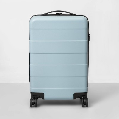 Hardside Carry On Spinner Suitcase Muddy Aqua - Made By Design™