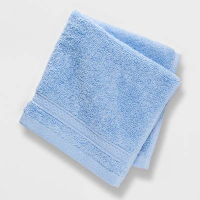 Perfectly Soft Solid Washcloth Placid Blue - Opalhouse™