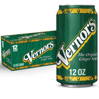 Vernors Ginger Soda - 12pk/12 fl oz Cans