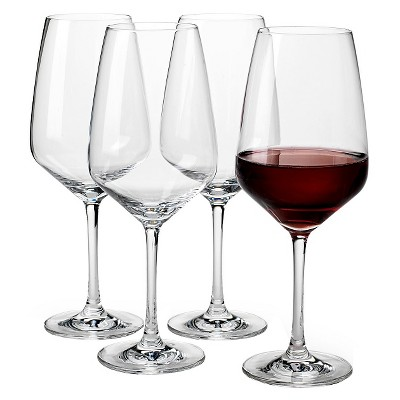 16.8oz 4pk Red Wine Glasses - Vivo Voice by V&B Group