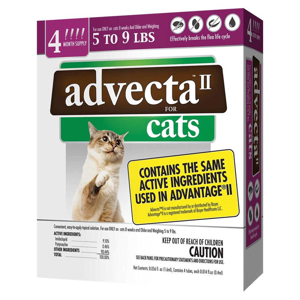 Advecta II Flea Drops for Small Cat - 4ct