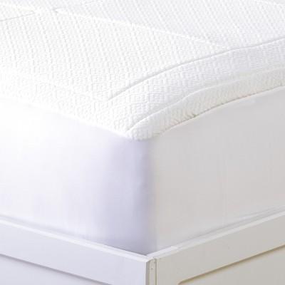 Lakeside Memory Foam Fitted Mattress Topper - Mattress Pad