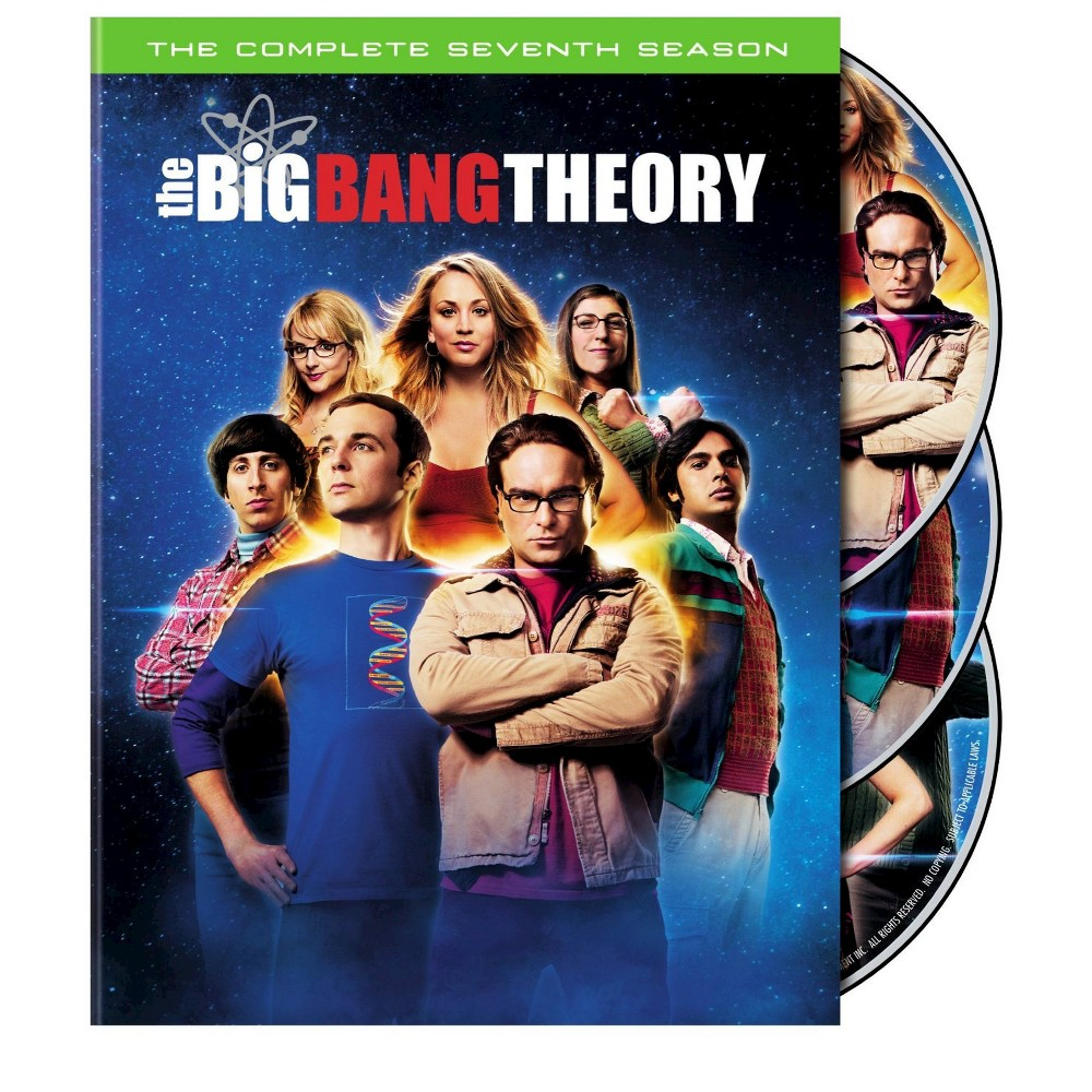 The Big Bang Theory: The Complete Seventh Season (3 Discs) (Widescreen)