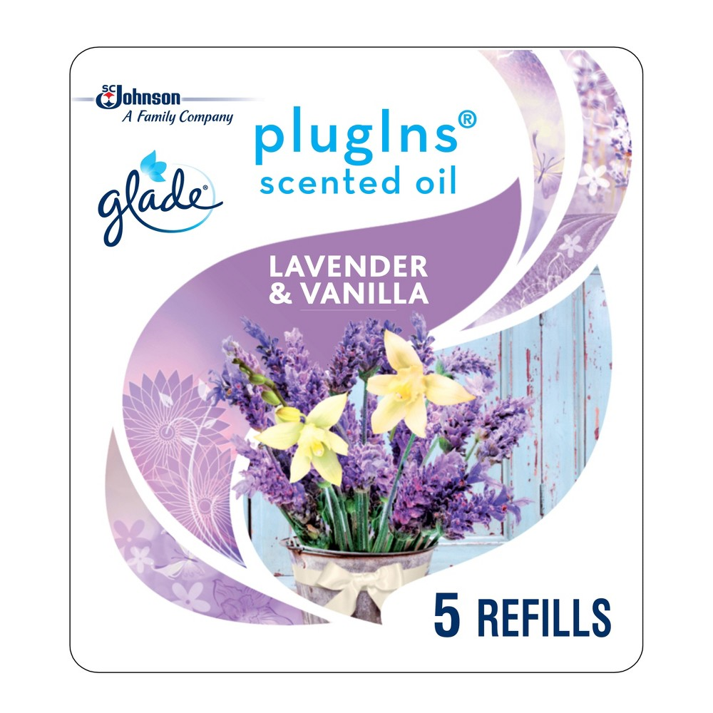 Glade Lavender & Vanilla PlugIns Refill - 5ct