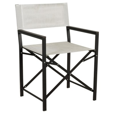 bryant sling outdoor director patio chair threshold target rh target com