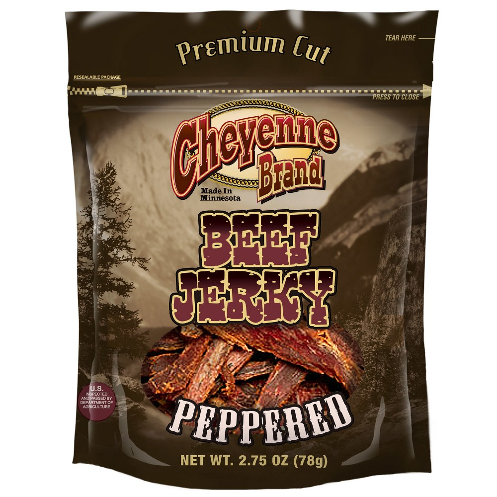 Cheyenee Brand Peppered Beef Jerkey - 2.75oz