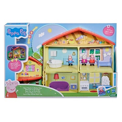 Peppa Pig Peppa's Playtime to Bedtime House Playset