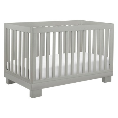 Babyletto Modo 3-in-1 Convertible Crib with Toddler Rail - Gray