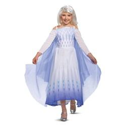 Toddler Deluxe Disney Frozen 2 Elsa Halloween Costume Dress