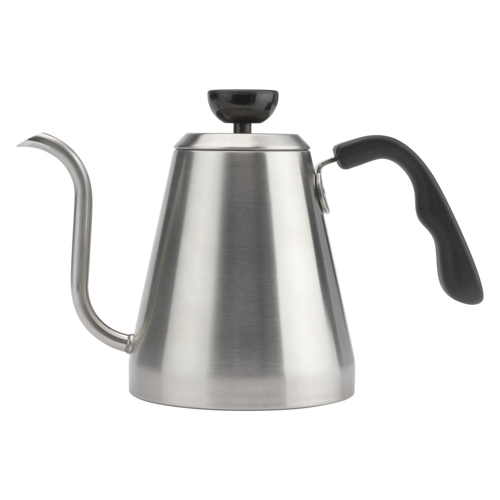 Image of Bialetti Stovetop Gooseneck Kettle - Silver