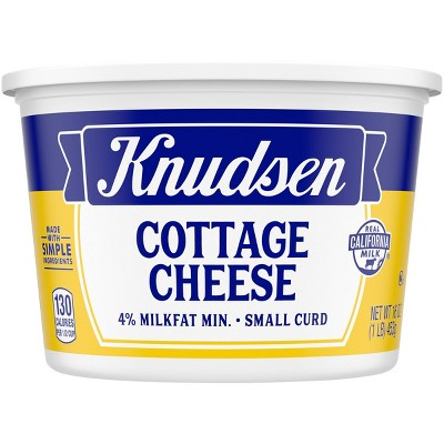 Knudsen 4% Small Curd Cottage Cheese - 16oz