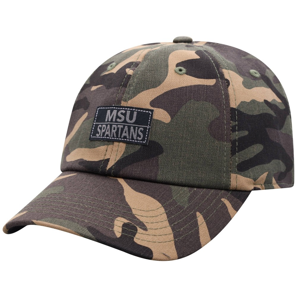 Ncaa Michigan State Spartans Men 39 S Camo Washed Relaxed Fit Hat