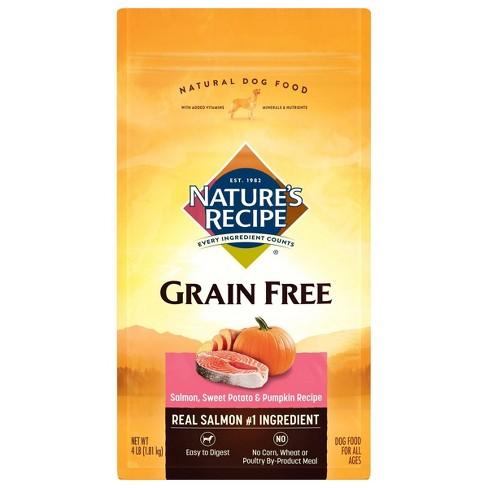 Nature's Recipe Grain Free Salmon, Sweet Potato & Pumpkin Recipe Dry Dog Food - image 1 of 2