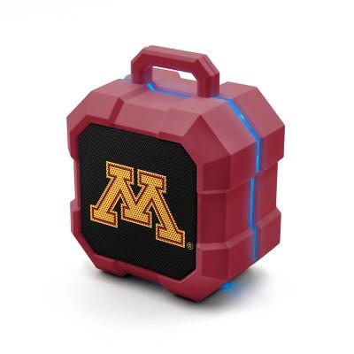 NCAA Minnesota Golden Gophers LED ShockBox Bluetooth Speaker