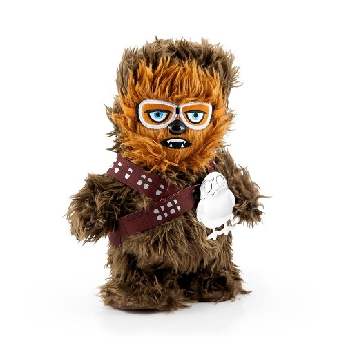 Seven20 Star Wars Chewbacca Walk n Roar Plush and Porg Pin | 12 inches - image 1 of 4
