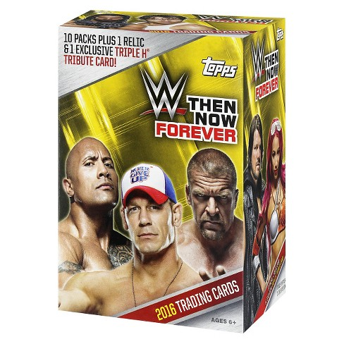Then/Now/Forever 2016 WWE Full Box Trading Cards - image 1 of 2