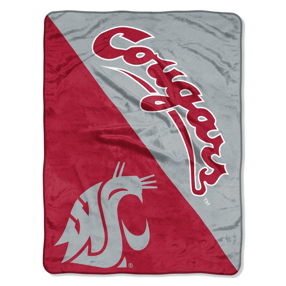 NCAA Washington State Cougars Micro Fleece Throw Blanket