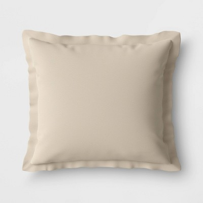Woven Outdoor Deep Seat Pillow Back Cushion DuraSeason Fabric™ Tan - Threshold™