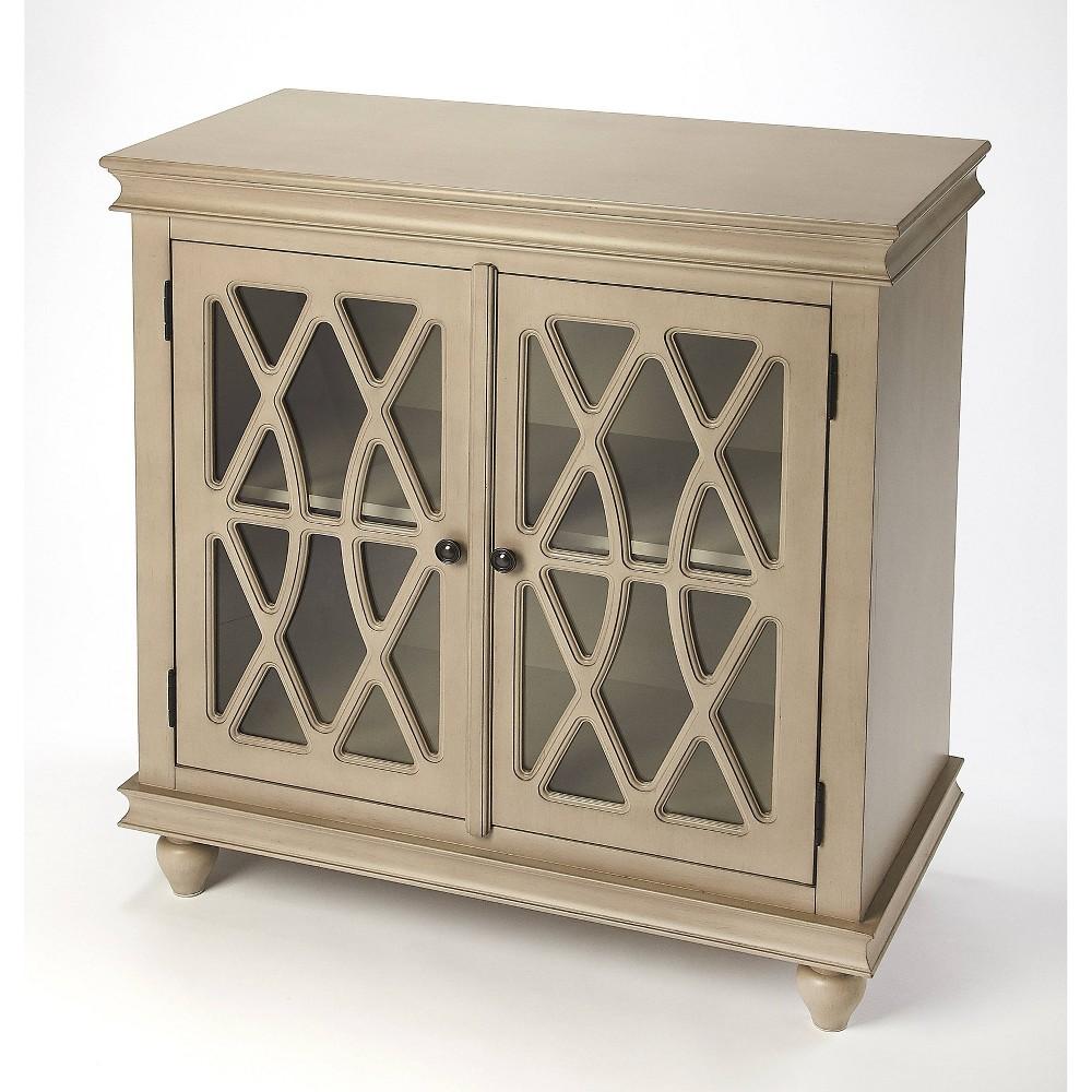 Lansing 2 Door Cabinet Natural - Butler Specialty