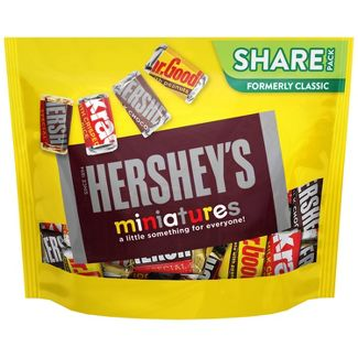 Hersheys Miniature Chocolate Candy - 10.4oz