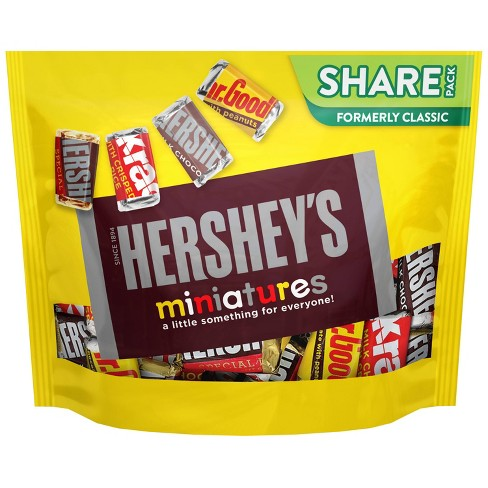 Hershey's Miniature Chocolate Candy Variety Pack - 10.4oz - image 1 of 4
