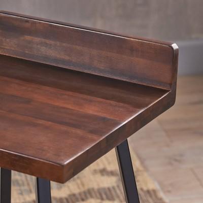 Set Of 2 Bidwell Modern Wood Barstool - Christopher Knight Home : Target