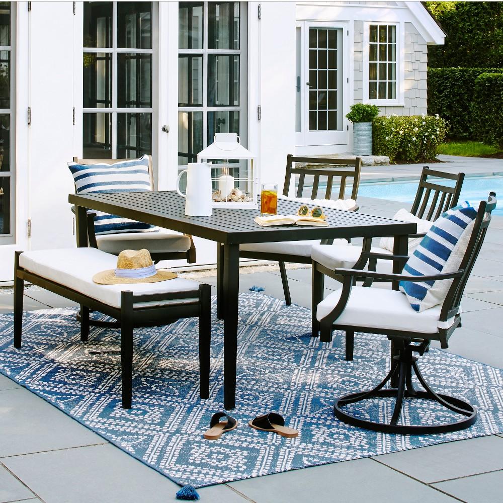 Fairmont 6pc Patio Dining Set - Linen - Threshold