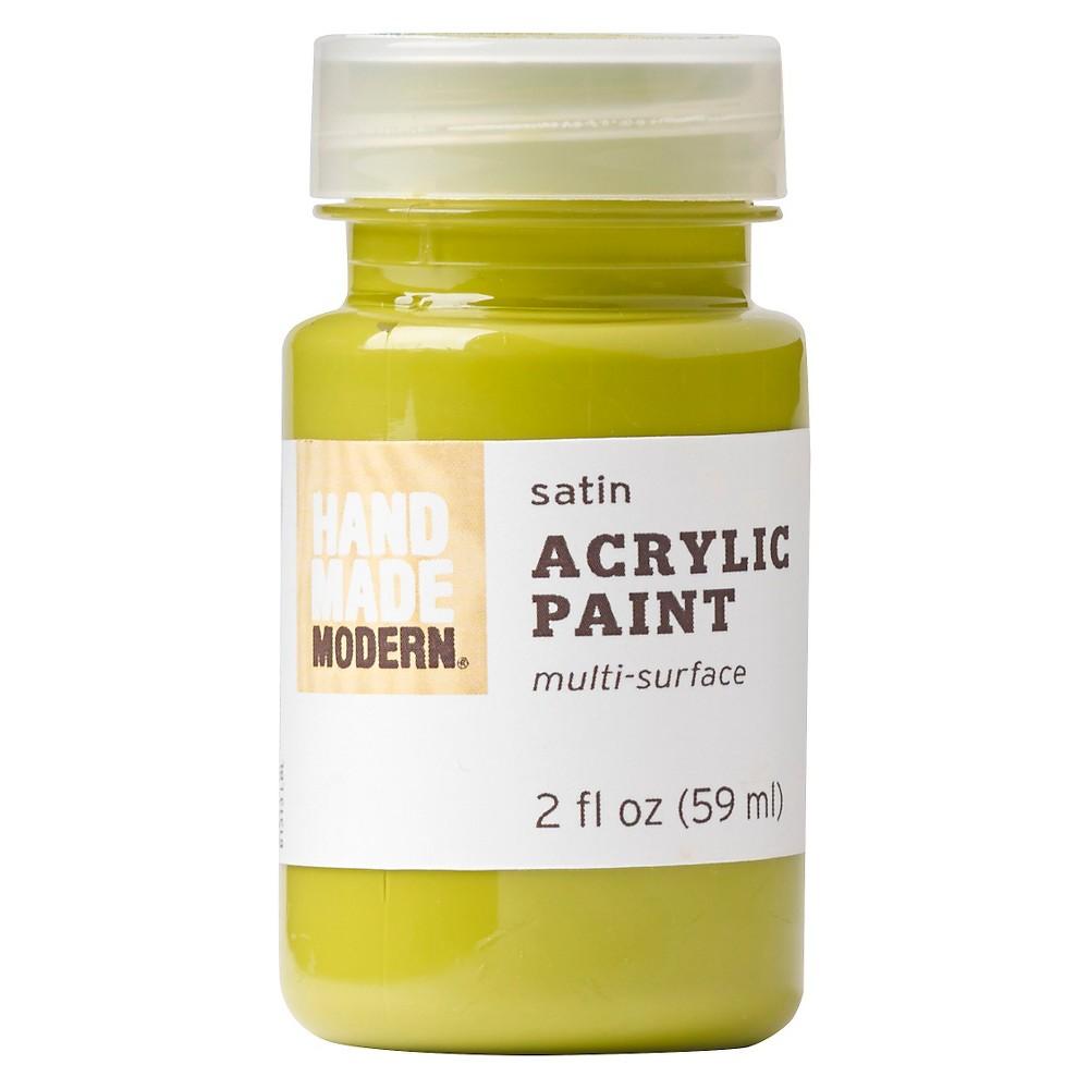Hand Made Modern - 2oz Satin Acrylic Paint - Avocado