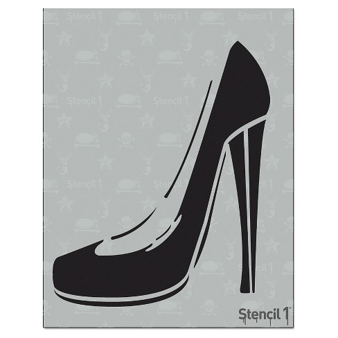 "Stencil1® Heels - Stencil 8.5"" x 11"" - image 1 of 3"