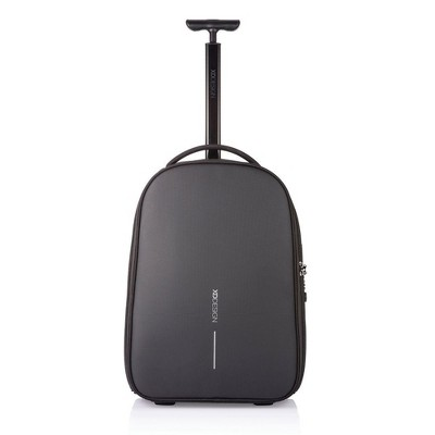 XD Design Bobby Anti Theft Travel Backpack Trolley with TSA Lock and USB Port, Hidden Compartments Hold 17 Inch Laptops and 12.9 Inch Tablets, Black