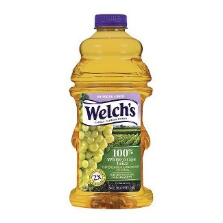 Welchs 100% White Grape Juice - 64 fl oz Bottle
