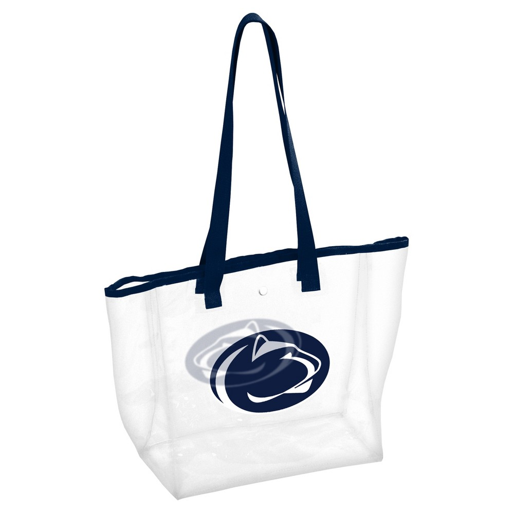 NCAALogo Brands PVC Stadium Tote Bag Penn State Nittany Lions, Adult Unisex