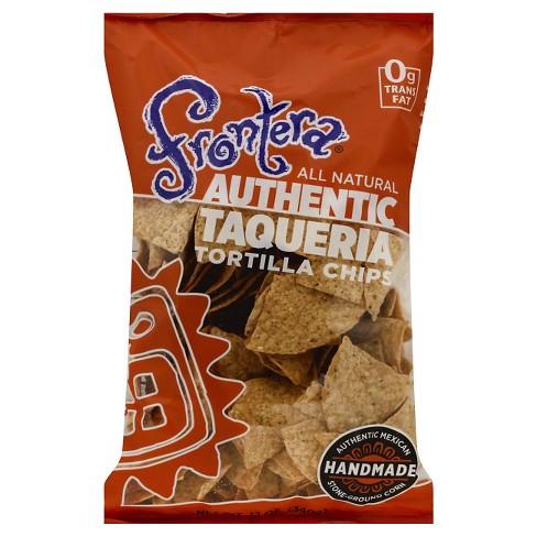 Frontera Authentic Taqueria Tortilla Chips - 12oz/12pk - image 1 of 3