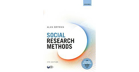 Social Research Methods (Paperback) (Alan Bryman) - image 1 of 1