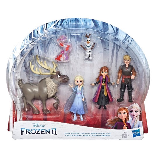 Disney Frozen 2 Adventure Collection, 5 Small Dolls from Frozen 2 image number null