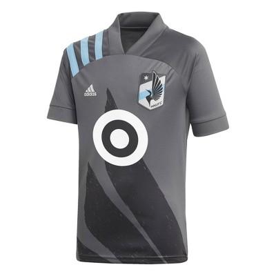MLS Minnesota United FC Youth Gray Jersey