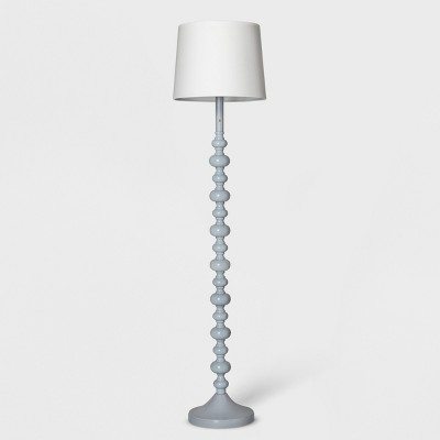 Stacked Ball Floor Lamp Gray Lamp Only - Pillowfort™
