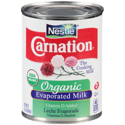 Canned & Powdered Milk: Carnation Organic Evaporated Milk