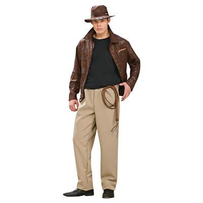 Adult Indiana Jones Deluxe Standard Halloween Costume
