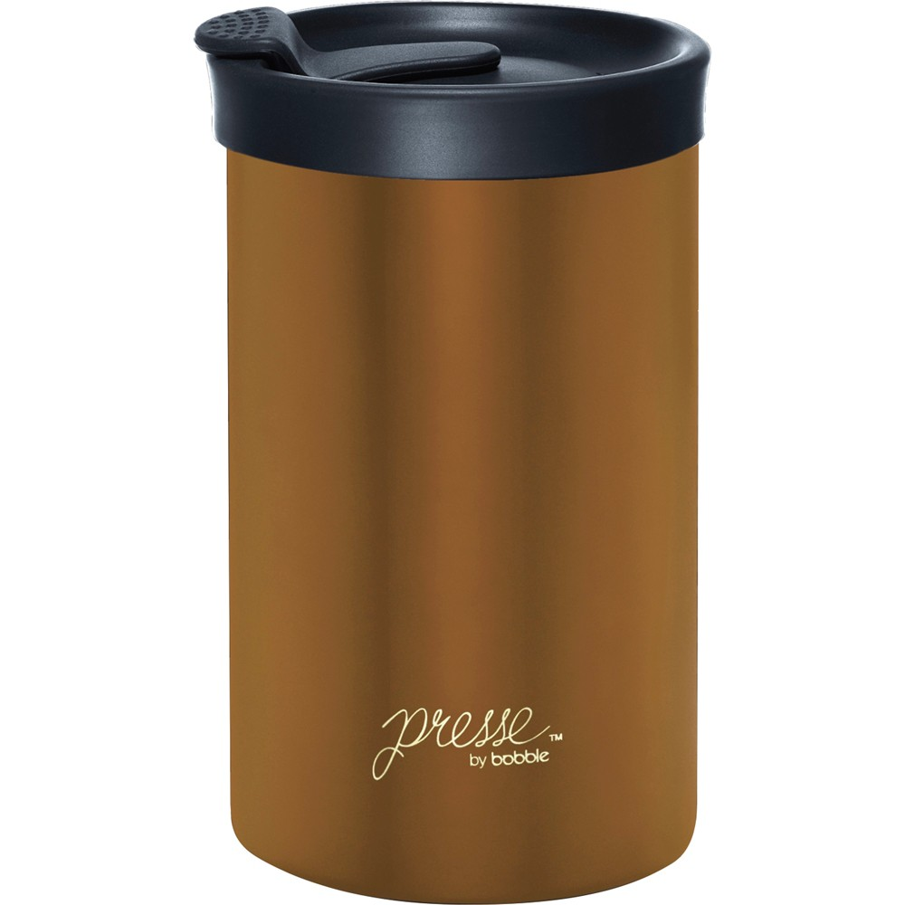 Image of Bobble Presse Stainless Steel Travel Mug 13oz - Copper (Brown)