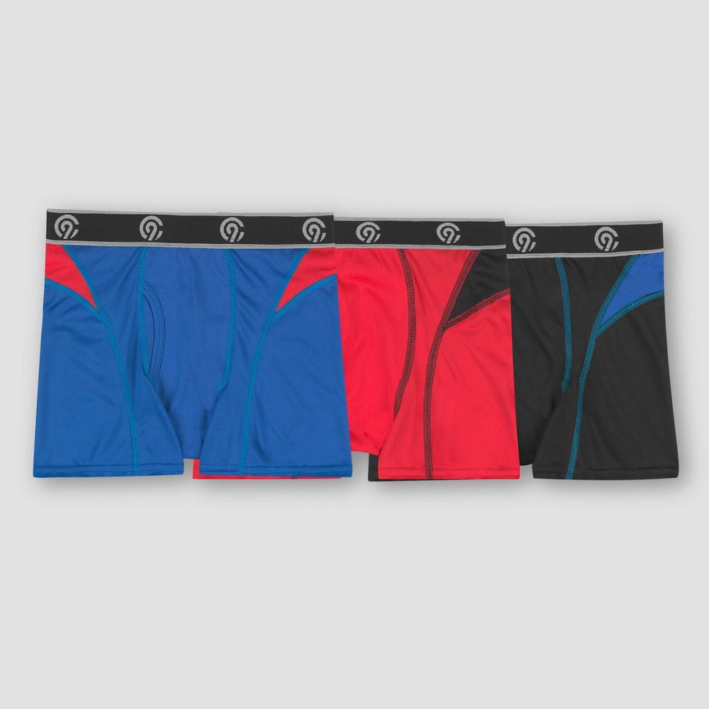 Boys' 3pk Pieced Mesh Boxer Briefs - C9 Champion M, Multicolored