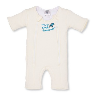 Baby Merlin's Magic Sleepsuit Swaddle Wrap Transition Product - 3-6 Months - Off White