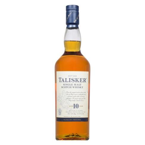 Talisker 10yr Single Malt Scotch Whisky - 750ml Bottle - image 1 of 3