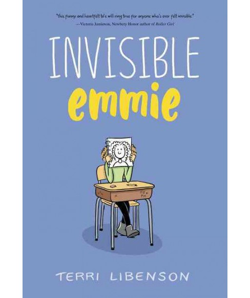 Invisible Emmie -  by Terri Libenson (Paperback) - image 1 of 1